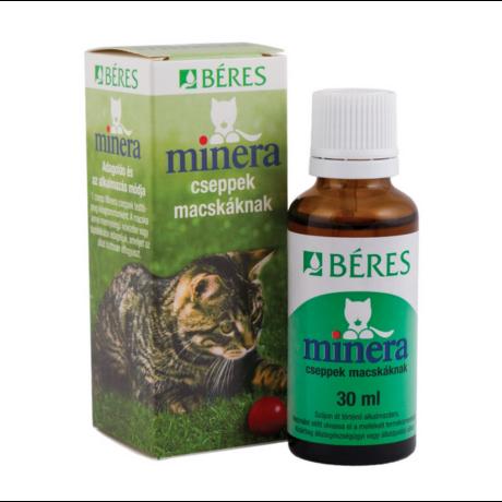 Béres Minera cseppek macskáknak 30ml