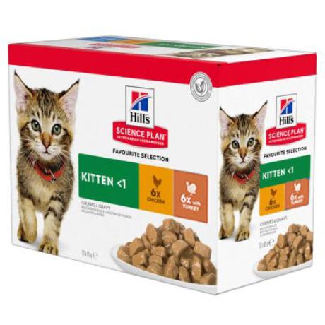 Hill's SP Feline Kitten Selection
