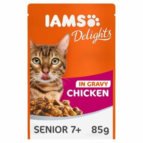 Iams senior cat gravy Chicken alutasakos 85g