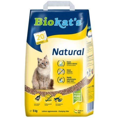 Gimpet biokats natural 5kg alom