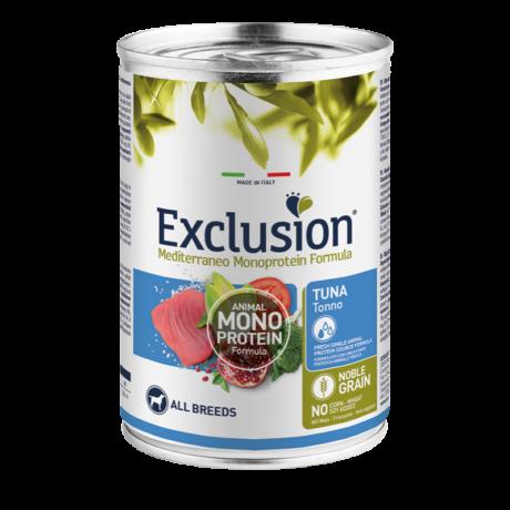 Exclusion Mediterraneo Monoprotein Formula Adult Tuna konzerv 400g