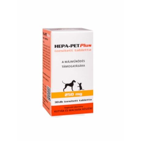 Hepa-Pet Plus 250mg tabletta kutyáknak macskáknak 30db