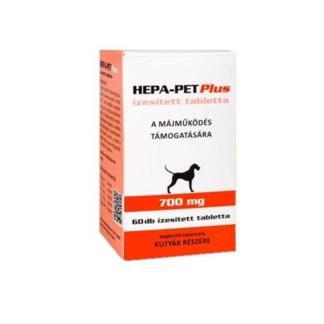 Hepa-Pet Plus 700mg tabletta kutyáknak 60db