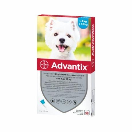 Advantix spot on 4-10kg kutya 1pipetta