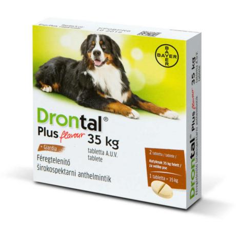 Drontal Plus 35kg ízesített tabletta 1db