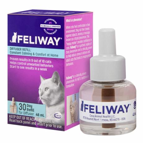 Feliway Classic Utántöltő Párologtatóhoz macskáknak 48ml