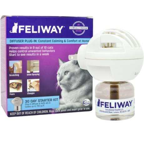 Feliway classic párologtató és utántöltő macskáknak 48ml