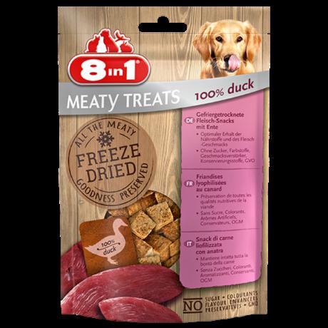 8in1 Meaty Treats Duck 50g