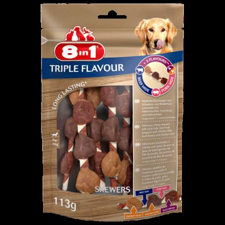 8in1 Triple Flavour Skewers 113g