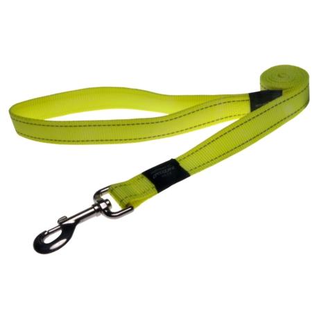 Rogz UTILITY póráz fényvisszaverő varrással kutyáknak 1,8m*11mm